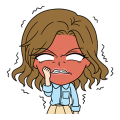 """StampGirl """"Angry"""""""
