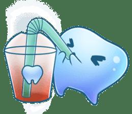 Mr.Tooth 2 sticker #2934729