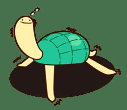 Smiling turtle sticker #2938933