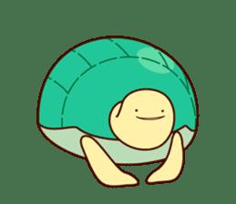 Smiling turtle sticker #2938952