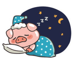 lovely pig's daily life sticker #2940853