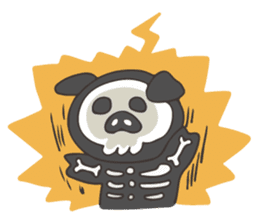 lovely pig's daily life sticker #2940875