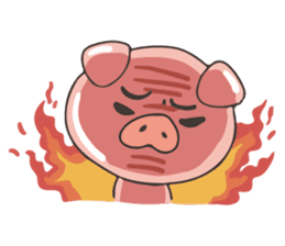 lovely pig's daily life sticker #2940879