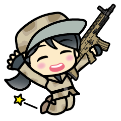 survival game and Military Sticker
