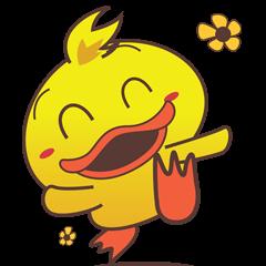 Dindin, the cute little duck