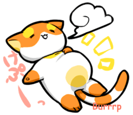 Meow mew world in New Year's sticker #2956500