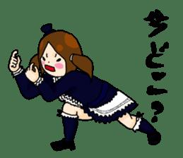 Punk Fashion girl sticker #2957513