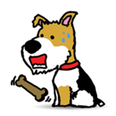 Ramis the fox terrier sticker #2957949