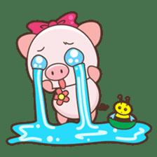 Piyu the pig sticker #2968885