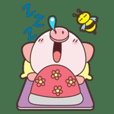 Piyu the pig sticker #2968897