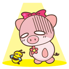 Piyu the pig sticker #2968898