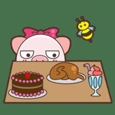 Piyu the pig sticker #2968899