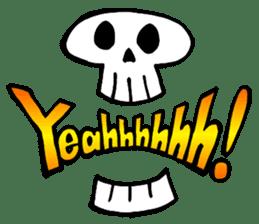 Bone Bone Skeleton (language:English) sticker #2971915