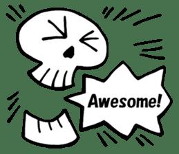 Bone Bone Skeleton (language:English) sticker #2971917