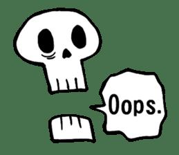 Bone Bone Skeleton (language:English) sticker #2971922