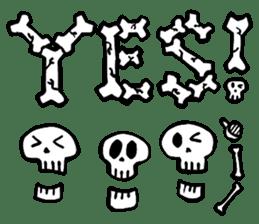 Bone Bone Skeleton (language:English) sticker #2971923