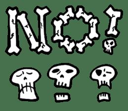 Bone Bone Skeleton (language:English) sticker #2971924