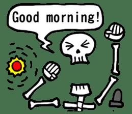 Bone Bone Skeleton (language:English) sticker #2971925