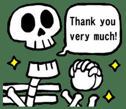 Bone Bone Skeleton (language:English) sticker #2971927