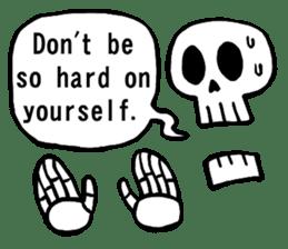 Bone Bone Skeleton (language:English) sticker #2971929