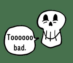 Bone Bone Skeleton (language:English) sticker #2971930