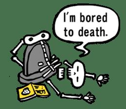 Bone Bone Skeleton (language:English) sticker #2971931