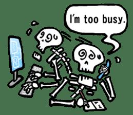 Bone Bone Skeleton (language:English) sticker #2971932