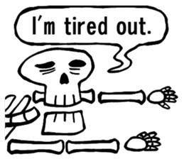Bone Bone Skeleton (language:English) sticker #2971934