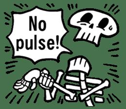 Bone Bone Skeleton (language:English) sticker #2971935