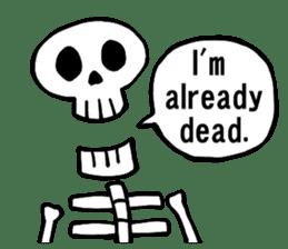 Bone Bone Skeleton (language:English) sticker #2971937
