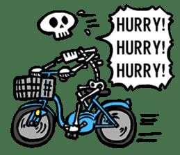 Bone Bone Skeleton (language:English) sticker #2971939