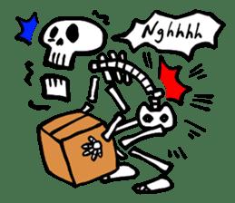 Bone Bone Skeleton (language:English) sticker #2971943