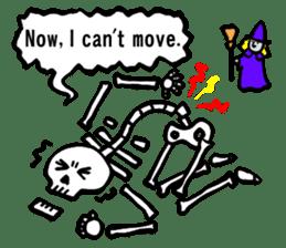 Bone Bone Skeleton (language:English) sticker #2971944