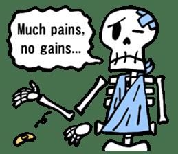 Bone Bone Skeleton (language:English) sticker #2971946