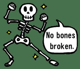 Bone Bone Skeleton (language:English) sticker #2971948