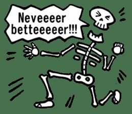 Bone Bone Skeleton (language:English) sticker #2971950