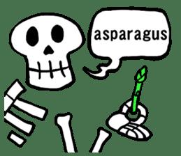Bone Bone Skeleton (language:English) sticker #2971953