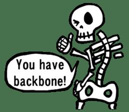 Bone Bone Skeleton (language:English) sticker #2971954