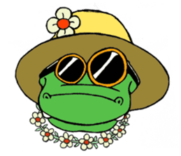 Oyob the Crocodile sticker #2982616