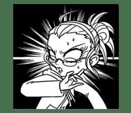 Sachiko Life Manga sticker #2986837