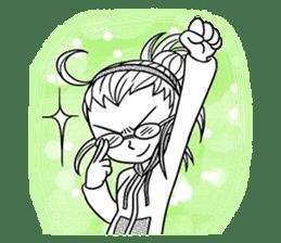 Sachiko Life Manga sticker #2986840