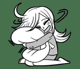 Sachiko Life Manga sticker #2986866