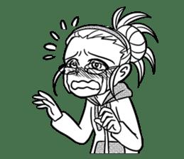 Sachiko Life Manga sticker #2986873