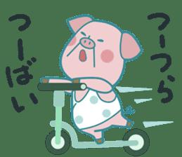Piggy the Pig2 (Saga & Nagasaki) sticker #2992514