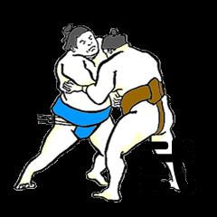 THE SUMO WRESTLER 2