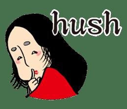 Miss Japanese beauty sticker #2996054