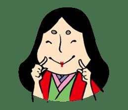 Miss Japanese beauty sticker #2996062