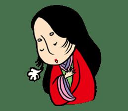 Miss Japanese beauty sticker #2996070