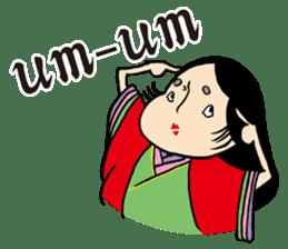 Miss Japanese beauty sticker #2996080