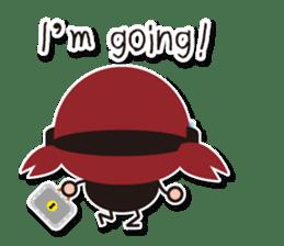 Espion Fleur 2nd Mission (En ver) sticker #2997523